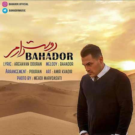 دانلود آهنگ بهادر دوست دارم  بنام  جدید بهادر دوست دارم