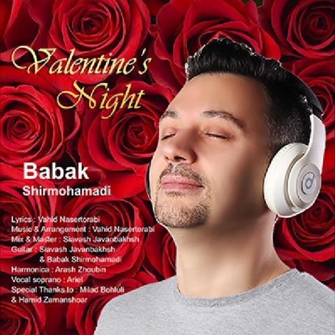 دانلود آهنگ شب ولنتاین بابک شیرمحمدی