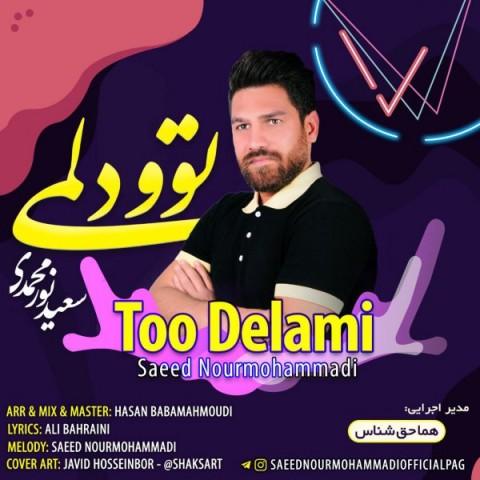 دانلود آهنگ توو دلمی سعید نورمحمدی