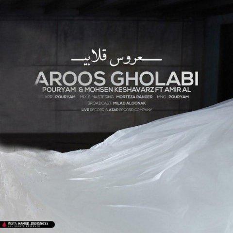 دانلود آهنگ عروس قلابی پوریام و محسن کشاورز و امیر ای ال