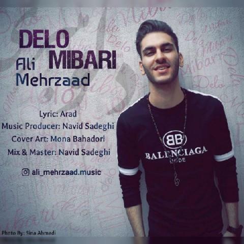 دانلود آهنگ دلو میبری علی مهرزاد