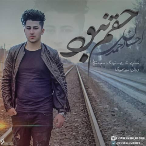 دانلود آهنگ حقم نبود احسان احمدی