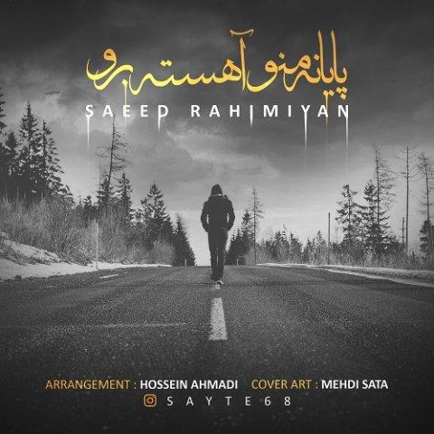 دانلود آهنگ پایان منو آهسته برو سعید رحیمیان