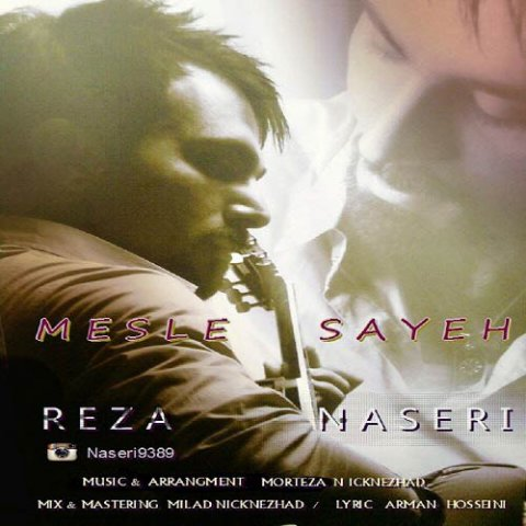دانلود آهنگ مثل سایه رضا ناصری