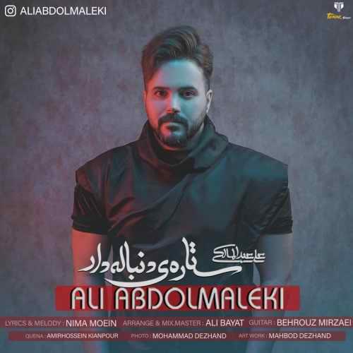 دانلود آهنگ ستاره ی دنباله دار علی عبدالمالکی